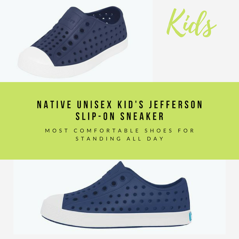 most comfortable shoes for standing all day for kids