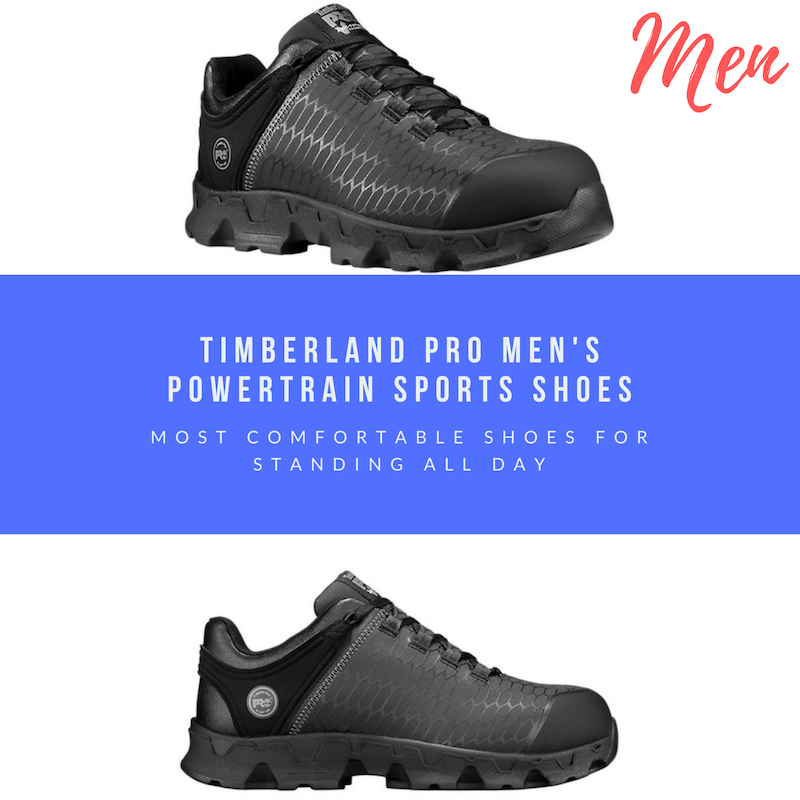 comfortable shoes for standing all day mens