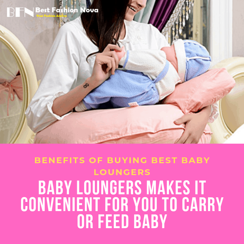 benefits of baby loungers