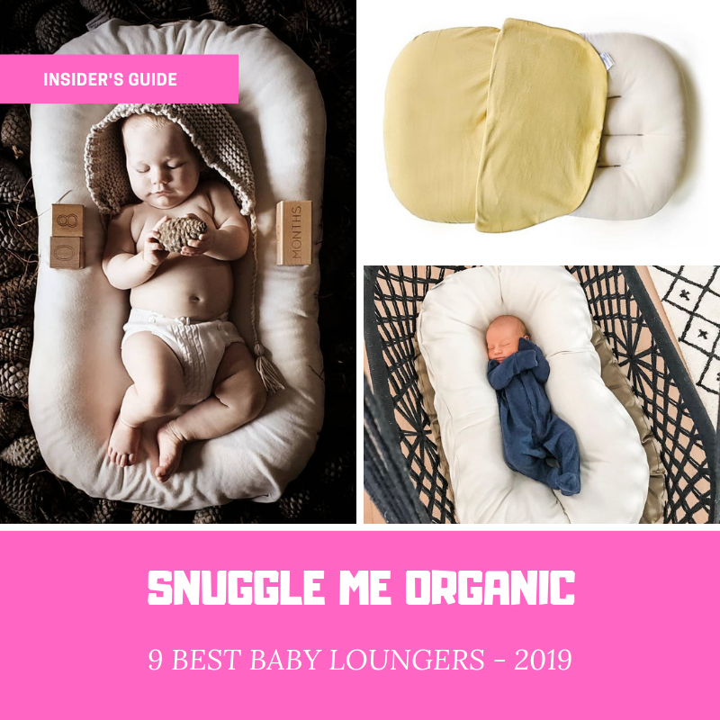 best baby loungers - snuggle me organic