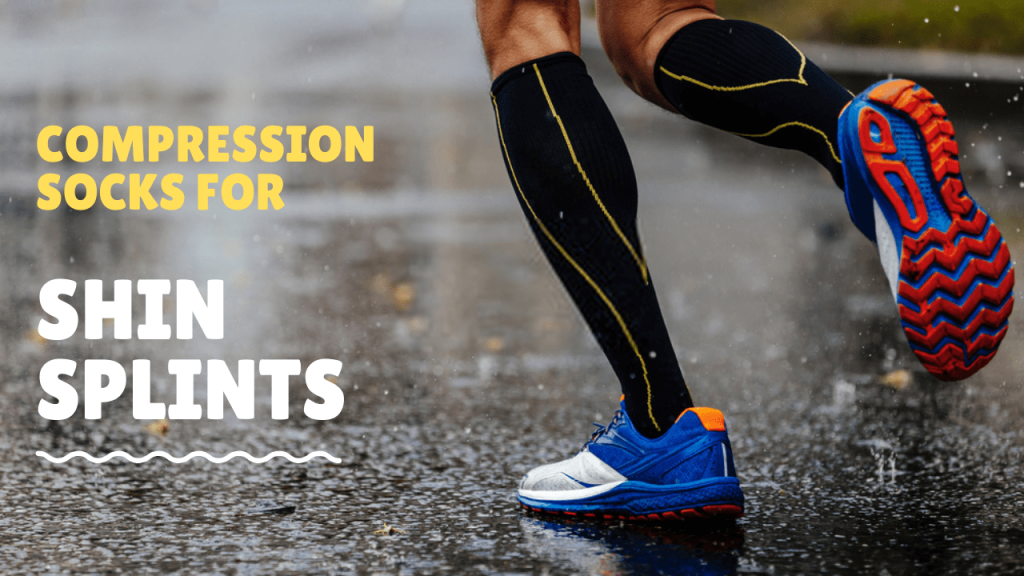 compression socks and sleeves for shin splints