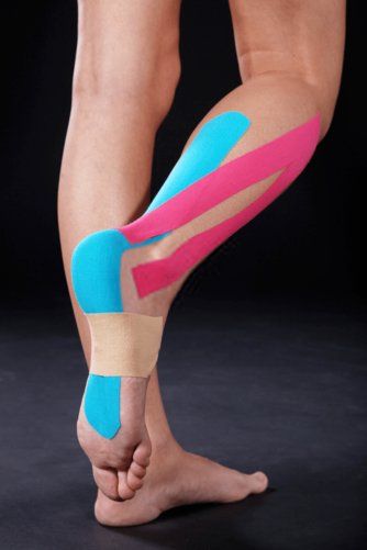 how to tape shin splints