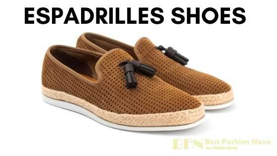 types-of-shoes-for-men-Espadrilles-shoes