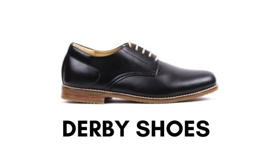 types-of-shoes-for-men-derby-shoes