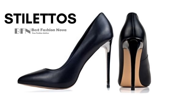 types-of-shoes-for-women-Stilettos