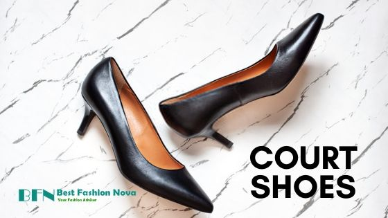 types-of-shoes-for-women-court-shoes