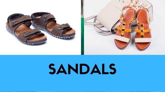 types-of-shoes-sandals